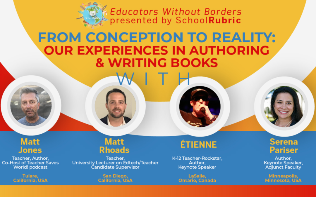 Educators Without Borders [Presented by SchoolRubric] Video Panel with Serena Pariser